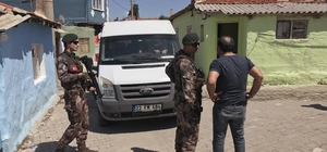 Edirne'de uyuşturucu satıcılarına operasyon
