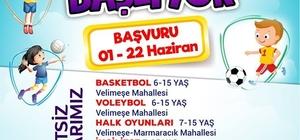 Ergene'de 'Yaz Okulu Kursları' başlıyor