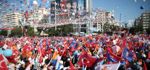 AK Parti'nin Adana mitingi