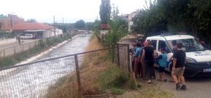 Koyun otlatırken sulama kanalında boğuldu