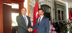 KKTC Başkonsolosu Erhan Özkan Araban'da