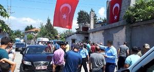 Şırnak'ta yola tuzaklanan el yapımı patlayıcının infilak etmesi