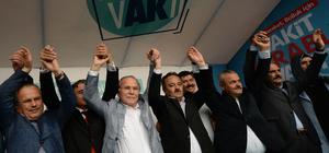 """Karabük'te """"AK Yürüyüş"""" programı"""
