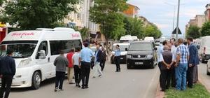 Minibüsün çarptığı çocuk metrelerce sürüklendi