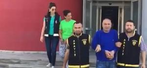 Yağmacı sevgililer yakalandı Adana'da yağma ve birden fazla kişiyi tehdit suçundan 34 yıl 8 ay hapis cezası alan şahıs ile aynı suçtan 7 yıl 6 ay hapis cezasına çarptırılan sevgilisi yakalandı