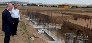 Kırıkkale Silah İhtisas OSB'de inşaat çalışmaları sürüyor