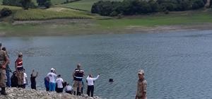 Aslantaş Barajı'nda kaybolan kişinin cesedi bulundu