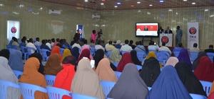 TİKA'dan Somali Üniversitesine bilgisayar laboratuvarı