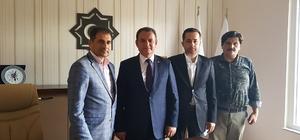 MHP Milletvekili Adayı Sonat Hizmet-İş Sendikasını ziyaret etti