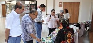 Tekirdağ'da el sanatları sergisi açıldı