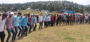 Kahramanmaraş'ta yayla şenliği 2 gün süren Kiraz Yaylası'ndaki şenliğe 5 bin kişi katıldı
