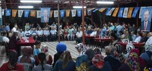 AK Partili Özkan seçim çalışmalarına hız verdi