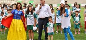 Salihli'de yaz spor okulları kapılarını açtı