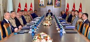 Vali Atik, 'Bölge Güvenlik Toplantısı'na katıldı