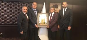 Bozüyük Belediyesi İdman Yurdu Spor Kulübü'nden Voleybol Federasyonu'na ziyaret