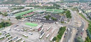 Büyükşehir'den İzmit Şehirlerarası Otobüs Terminali'nde çalışma