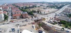 Gölcük Yüzbaşılar köprülü kavşağının yapımına başlanıldı
