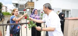 Başkan Karabacak, seçim çalışmalarına devam etti