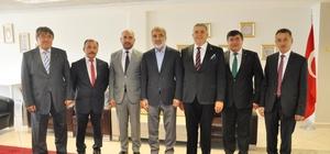 Enerji ve Tabii Kaynaklar eski Bakanı Taner Yıldız Kayseri Ticaret Borsası'nda