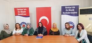"""Memursen'den 24 Haziran açıklaması Memursen ve Eğitim Bir-Sen Kilis Kadın Komisyonu Başkanı Nihal Genç: """"16 Nisan'da Neredeysek 24 Haziran'da Oradayız"""""""