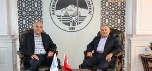Türk Telekom Bölge Müdürü Ağır'dan Başkan Büyükkılıç'a ziyaret