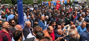 Bakan Arslan'a Kağızman'da sevgi seli