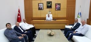 Başkan Toçoğlu, APEK Başkanı Karasakal ile bir araya geldi