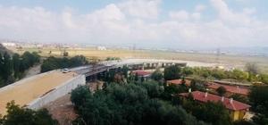 Muhsin Yazıcıoğlu üst geçitinde çalışmalar son aşamada