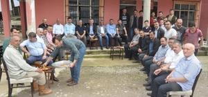 AK Parti Giresun Milletvekili adayı Kadir Aydın Bulancak'ta seçim çalışmalarını sürdürüyor