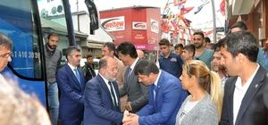 Başbakan Yardımcısı Akdağ Pasinler'de açık hava mitingi düzenledi