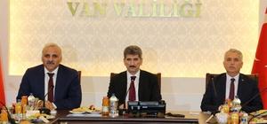 Van'da 'Seçim Güvenliği' toplantısı yapıldı