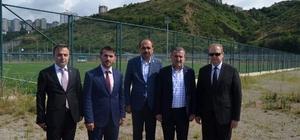 """Gençlik ve Spor Bakanı Bak Trabzon'da Gençlik ve Spor Bakanı Osman Aşkın Bak: """"Türkiye organizasyon ve tesis konusunda çok üst düzeylere ulaştı"""" Amatör maçlar da Akyazı'da oynanacak"""