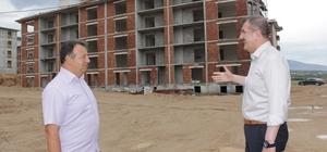 Çivril'de yeni yerleşim alanı yükseliyor