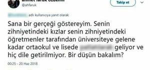 Fizik profesörünün çirkin paylaşımına SDÜ'den soruşturma SDÜ'deki profesörün skandal tweet'i hakkında soruşturma başlatıldı Profesörün attığı tweet başını yaktı