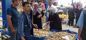 Pazarlarda patatesin fiyatı 5 lirayı aşınca, gözler Sandıklı patatesine çevrildi
