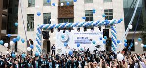 BTÜ'de mezuniyet töreni