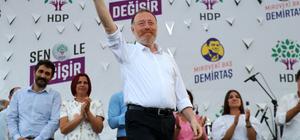 HDP Eş Genel Başkanı Temelli Hatay'da