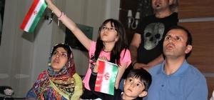 İranlı turistler İspanya maçını heyecanla izledi