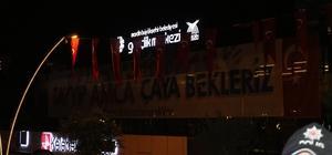 """Cumhurbaşkanı Erdoğan, """"Tayyip amca çaya bekleriz"""" pankartına kayıtsız kalmadı"""