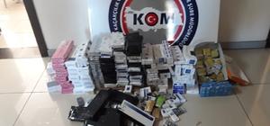 Mersin'de kaçakçılık operasyonu: 4 gözaltı