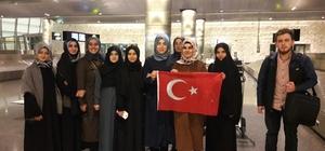 Yurt dışındaki ilahiyat öğrencileri dönüş yaptı
