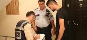 Denizli'de apartlara yönelik polis denetimi Denetimlerde yönetmeliklere uymayan işletme sahiplerine 90 bin TL para cezası kesildi
