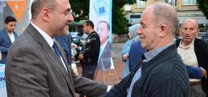 Başkan Ali Çetinbaş: Güçlü Türkiye'yi halkımızla birlikte inşa edeceğiz