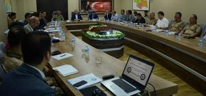 Siirt'te seçim güvenliği toplantısı yapıldı