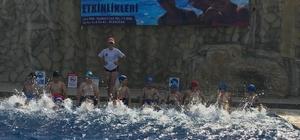 Büyükşehrin yüzme kursları devam ediyor