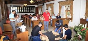 Nevşehir Belediyesinde ilk yardımcı eğitimi sona erdi