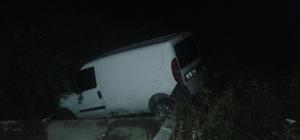 Kaza yapan sürücü olay yerinden kaçtı