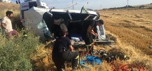 Edirne'de trafik kazası: 1 ölü, 2 yaralı