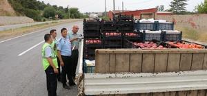 Manisa'da kaçak meyve ve sebze denetimi