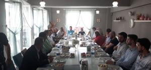 Başkan Alemdar, SEBADER üyeleriyle bir araya geldi